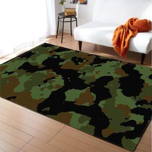 Accueil Décoration Tapis Tapis Tapis Flanel Camouflage Boys Chambre Chambre Plancher Tapis Enfants Tapis et tapis pour salon