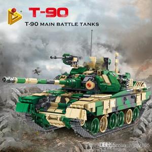 Panlos 632005 Military Tank Il T-90 blocchi principali Battle Tank Set di edilizia Mattoni Serbatoi ragazzo modello Giocattoli Regali di Natale