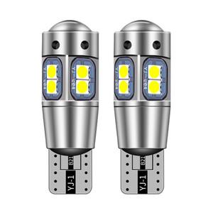 Alta calidad T10 W5W súper brillantes bombillas de la lámpara de aparcamiento 168 194 Auto LED de la cuña LED Interior del coche Luz de lectura Dome 3030