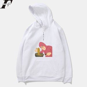 Fashion-Pink Guy Ramen King VAPORWAVE Frauen / Männer Hoodies Sweatshirts Harajuku Fashion Hoodie Jungen / Mädchen Hoody Männer Pullover Trainingsanzug Top