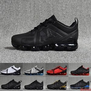 2020 Sale Mens Casual shoes 2019 For Men Casual Air Cushion Triangle Triple Black White Trainers Hot Hiking Jogging Sports Shoe 40-45
