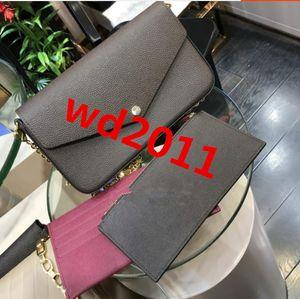 le donne più nuove di vendita calda vendono i sacchetti della porcellana della spalla con la scatola Modello 61276 3pcs nel set