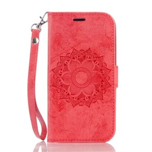 Mandala gaufrage couverture pour LG Flip Case K8 K7 Support PU Porte-monnaie en cuir Sacs Mobile Téléphone pour LGK10 G3 G4
