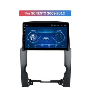 KIA SORENTO 2009-2012 Otomatik Araç Araç Multimedya GPS Navigasyon Sistemi için 9 inç Android 10