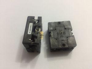 Presa per test IC Plastronics 28LQ45S14040 QFN28 Presa bruciatore da 0,45 mm