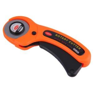 2020 Yeni 1pc Yüksek Kalite 45mm Döner Kesici Dikiş Kapitone Kumaş Deri Kağıt Vinil Craft Cutting Tools şeritler