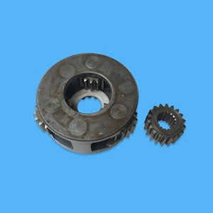 Planetary Carrier Assembly 2031106 with Sun Gear 3046917 for Swing Gearbox Reduction Fit Excavator EX100-2 EX100-3 EX120-2 EX120-3