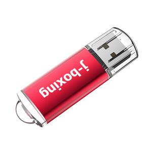 Red 64GB USB 2.0 Flash Drive ad alta velocità rettangolo Memory Stick 64GB del pollice della penna di archiviazione per PC portatile Macbook Tablet Flash Pen Drive