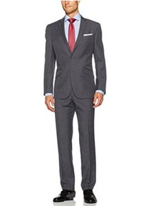 custom Pure blue suit men's suits, do manual work is delicate, decent, long-sleeved jacket and pants for the groom's best man suit custom in