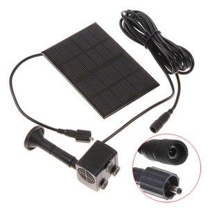 Высокое качество монокристаллического кремния Mini Solar Water Pump Power Panel Kit фонтан бассейн насос Садовый пруд Погружной Полив