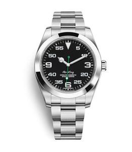 2020The 베스트 셀러 신사 명품 시계 AIRKING 시리즈 40MM 스테인레스 스틸 116900 자동 방수 남자의 시계를 손목 시계 사파이어