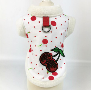 Dog clothes autumn and winter two feet dog coat cotton dog clothes winter vest styles red pink blue colors warm jackets for dogs