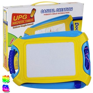 Colorido Magnetic Board Drawing Toy Magic Criativa e Esboço apagável Pad Writing crianças pequenas prancheta de quebra-cabeça brinquedos educação infantil