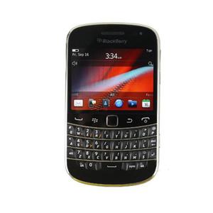 Recuperado Blackberry Bold Touch 9900 3G WCDMA telefone celular com 2.8inch Tela Qwertykeyboard 8GROM 5.0MP Camera 1230mAh 3G WIFI Bl