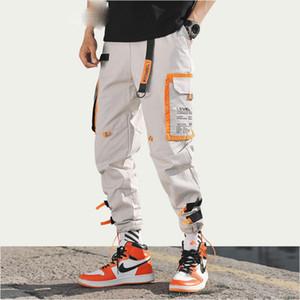 Pantaloni multi tasche Cargo Harem Jogger Uomo Pantaloni hip-hop Moda Casual Pantaloni sportivi Streetwear Pantaloni sportivi Harajuku Hipster