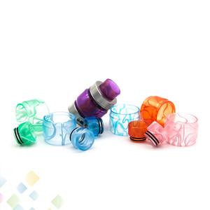 FreeMax FireLuke Tank Acrylic Replacement Kit Bulb Tube Resin Sleeve con ugello a goccia 5 colori DHL Free