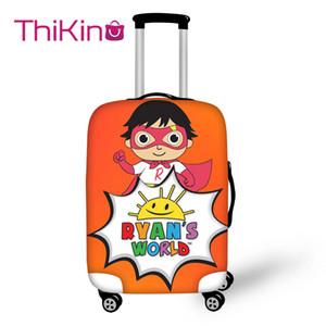 World Travel bagagli copertura per le ragazze della scuola del fumetto Tronco Valigia della calotta di protezione borsa da viaggio rivestimento della protezione del CJ191217 di Thikin Ryan