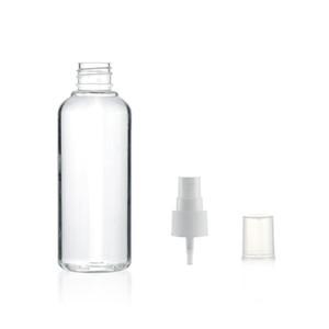 Fábrica de artículos 100Ml Alcohol Botella Spray desinfectante lateral de la botella de agua del gel de botellas de PET Loción Sub-Botella