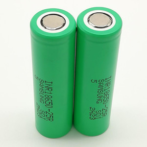 500pcs 100% High Quality INR 25R 18650 Battery 2500mAh IMR 3.7V for LG SONY Samsung Rechargable Lithium Batteries Cell