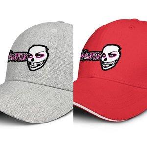Misfits sfondi design per uomini e donne Snapback Adjustable Trucker Cap di Sun di modo sfera cappello grigio Outdoor