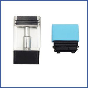 Plug Play Vape Pods Cartridge Ceramic Coil 1.0ML Thick Oil Atomizer High Performance Vfire Vaporizer Battery Cart