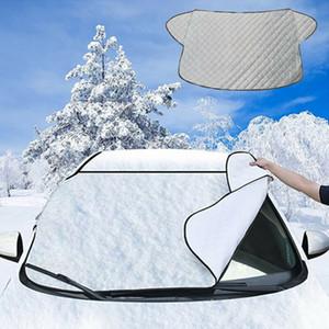 HOT 자동차 앞 유리 차양 커버 자석 자동차 창 화면 서리 얼음 큰 눈 더스트 쉴드 수호자 자동차 일 바이저를 들어 자동차