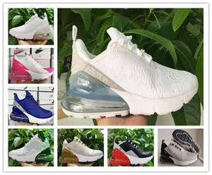 ar 2020 nbspmax 270 Running Shoes Almofada 27c Parra Homens Mulheres Triplo Universidade Vermelho Branco Olive Volt Habanero Flair 27C sapatilha 36-45