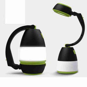 Fonksiyonlu Masa Lambaları 3 1 LED Çadır Lambası Kamp Lambası Acil Işık Ev USB şarj edilebilir Taşınabilir Fenerler ZZA2336