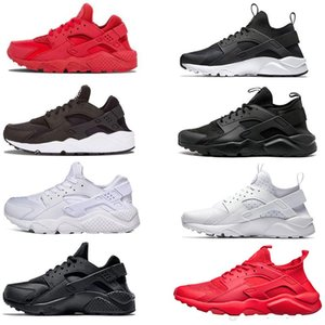 New all white Huarache Premium I 4 IV Running Shoes For Men Women Sports Trainers Breathable Huaraches Run shoes Sneakers