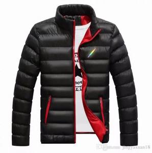 Chaqueta de invierno de los hombres de la marca chaqueta casual traje de béisbol abrigo corto abrigo de algodón chaqueta M-5XL MON-0829