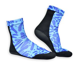 Soft Sole Diving Socks Scuba Diving Stockings Outdoor Sports High Elasticity Speckle Men And Women Summer Beach Colors Mix 14 8swf1