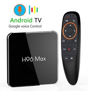 Android 9.0 4GB 64GB Amlogic S905X2 Smart TV Box Dual-Wifi 1080p 4K USB3.0 H96 MAX X2 Google Voice Control