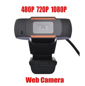 HD Web Camera 30FPS 480P / 720P / 1080P ПК Встроенный звукопоглощающий микрофон USB 2.0 видеозапись для компьютера для ноутбука ПК