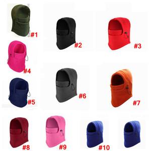 Açık motosiklet Caps Unisex CS Barakra Şapka Taktik Maskeler baş örtüsü kış Kayak Bisiklet Caps Kulaklık LJJA3506 sürme ısıtın