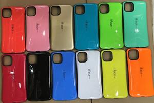 iFace Fällen für das Iphone 11 Pro XS Max XR 8 7 6 5 SE-Süßigkeit Soap dünne TPU PC Full Defence stoßabsorbierendes Schlagabdeckungs-harter Luxus-Korea-Art