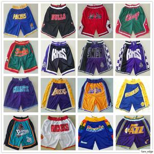 Just Don Shorts Pant Basketball Short Cheap Wholesale Stitched Pocket Retro Vintage Classic Best Quality Mens Shorts Size S M L XL XXL