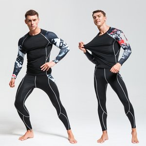 Ski Underwear Set Men Quick-drying Tights Warm Base layer Compression Clothing Winter Jogging Suit Men Thermal Underwear Winter