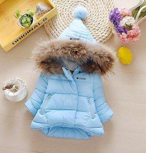 2019 marque nord enfants de vêtement garçon et fille hiver chaud manteau avec capuche enfants coton rembourré Doudoune enfants Vestes 1-6 ans