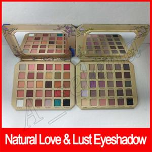 2019 New Макияж глаз Лицо Natural Love Палитра теней для век Natural sex Lust тени для век 30 цветов dhl бесплатно