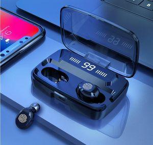 Auriculares inalámbricos original M11-9 TWS Bluetooths 5.0 auriculares de alta fidelidad IPX7 Controles auriculares impermeables Touch Headset para el deporte