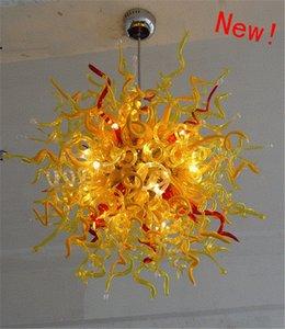 2020 Inde mariage Chandeliers gros prix 110V-220V LED Multicolore verre soufflé Lustre Murano Noël Décor style
