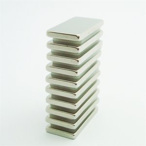10pcs Rare Earth block Neodymium Magnetic Materials N35 20x10x2mm craft magnetic craft DIY parts fridge magnets