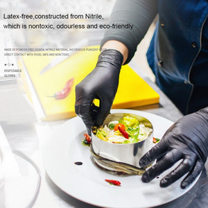 2020 Hot Sale Disposable Gloves Latex Dishwashing Kitchen Work Rubber Garden Gloves Universal Protective Gloves 1lot=100pcs
