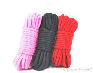 10 Meter lange starke Starke Baumwolseil Fetisch Sex Restraint Bondage Seile Harness Flirten SM Adult Game Sexspielzeuge für Paare S668