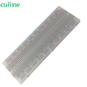 Envío gratuito 10 unids NUEVO MB-102 MB102 Breadboard 830Point Prueba de tablero de pan PCB sin soldadura Desarrollar DIY