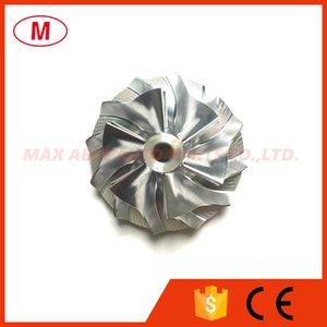 Turbo Kartuş / Chra / Çekirdek Kp39 / BV39 5439-123-2021 30.30 / 41.00mm 6 + 6 bıçak Turbo Kütük kompresör çarkı / Alüminyum 2618 / Freze tekerlek