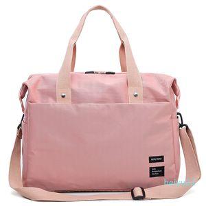 2020Sport Bag Gym Fitness Yoga Bag Waterproof Nylon Travel Handbags Women the Shoulder Sac De Sport Luggage Duffle