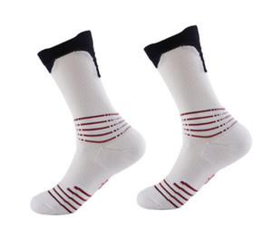 2019 USA new knee high elastic crew socks elite basketball football soccer sport mid-calf length crew sock terry towel kd socks for men #112