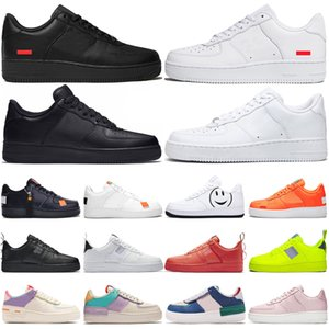 Nike Air Force 1 Luxus Racer blau Laufschuhe Triple White Black Light Cream Dusty Cactus Oreo olympischen Outdoor Herren Damen Red Orbit Light Cream Sneakers
