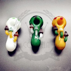 Glass smoking hand pipe HOT SALE MANUFACTURE hand pipes,spoon pipe amazing heady glass best quality